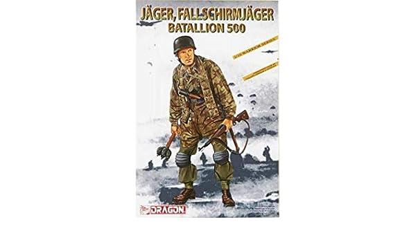 Fallschirmjäger Batallion 500 DRAGON 1628 1//16 Jäger