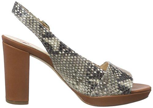 Högl 1- 10 9617 - Zapatos de Talón Abierto Mujer Marrón - Braun (1926)
