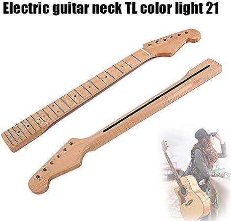 Wodeni - Cuello de Guitarra eléctrica (21 Maderas), diseño Retro ...