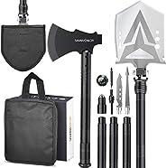 Sahara Sailor Survival Shovel Axe, Indestructible Camping Shovel Axe & Hatchet - 4 Thicken Extension Handl
