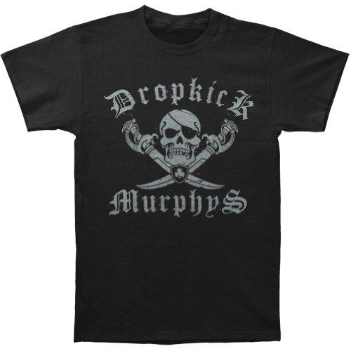 Dropkick Murphys- Jolly Roger T-Shirt Size ()