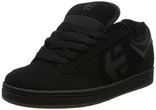 Etnies Mens Men's Swivel Skate Shoe, Black/Black/Gum, 8.5 Medium US