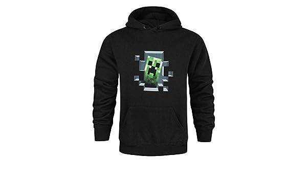 Minecraft - Sudadera Oficial Modelo Creeper Inside para Hombre (L/Negro): Amazon.es: Ropa y accesorios