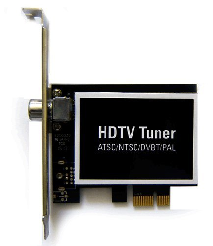 Hybrid Digital Analog ATSC DVB-T Clear-QAM NTSC PAL TV Tuner PCI Express Card For Desktop PC