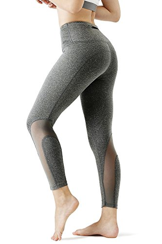 CHICMODA Yoga Pants Leggings High Waist Tummy Control Workout Running Capris