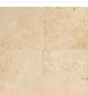 "Crema Marfil Classic 12x12"" Square Marble Tile Polished (..."