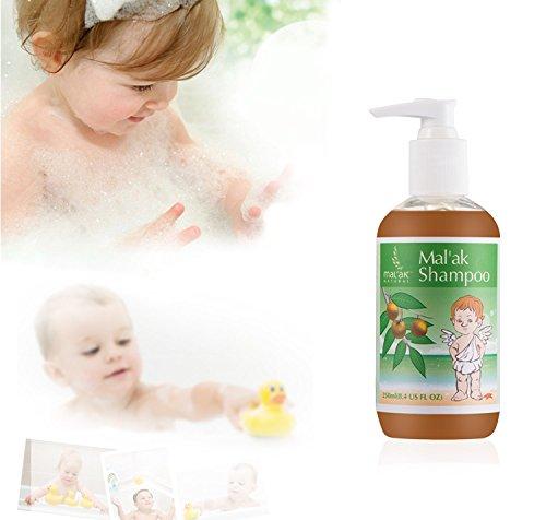 Mal'ak Sapindus Essential Gentle Baby Shampoo & Body Wash, 8.4 fl oz