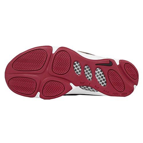 Nike Para Hombre Zoom Hawk Flight, Blanco / Negro-antracita-plata Metálica