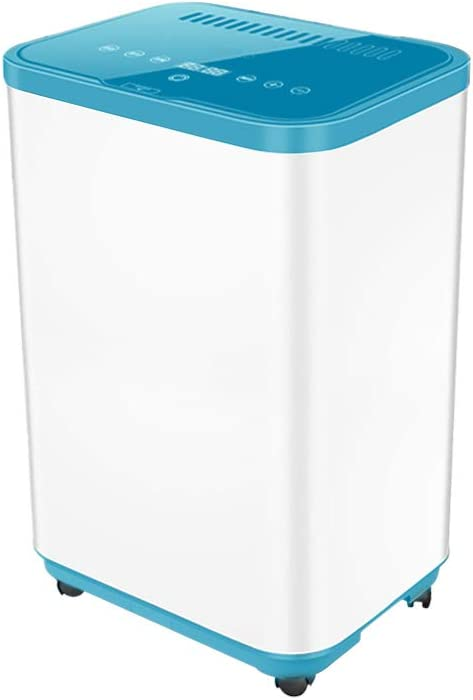 Secador de alta potencia, Secadora de ropa Eléctrica, de secado rápido para interiores Smart Touch 60L Capacidad Triple Desinfección 20 kg Carga de línea El revestimiento de acero inoxidable puede ser
