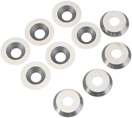 Carbide Werkzeug-Zubehör, CNC-Werkzeugzubehör, Ma Verwendet for Drechsel 16mm 10pcs Rund Carbide Insert-Fräser,