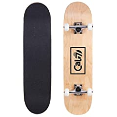 Great for all Skaters              An awesome gift for starting or more advanced skaters, these complete boards come in 7.5 inches and 8.0 in varying styles. Whether you're practicing kickflips in front of the house or hitting...