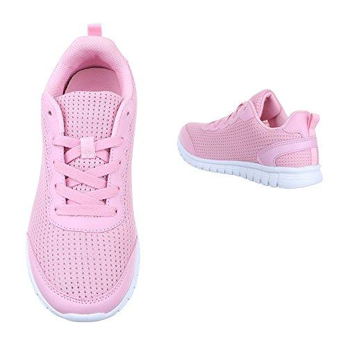 Ital-Design - zapatilla baja Mujer , color Rosa, talla 39