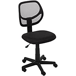 AmazonBasics Low-Back Computer Chair - Black