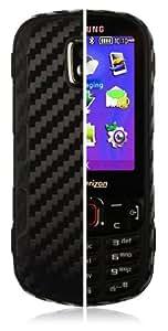 Skinomi TechSkin - Samsung Intensity III Screen Protector Ultra Clear Shield + Black Carbon Fiber Full Body Protective Skin + Lifetime Warranty