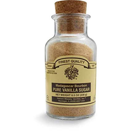 Nielsen-Massey Madagascar Bourbon Pure Vanilla Products Sugar 7.5 oz.