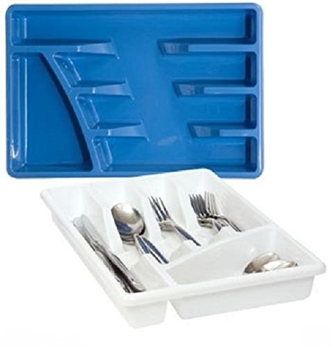 Plastic Flatware Storage Tray
