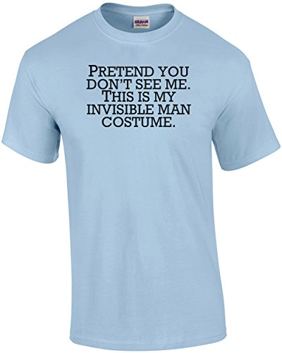 Invisible Man Costume Pretend You Don't See Me - Halloween (Do It Yourself Halloween Costumes For Guys)