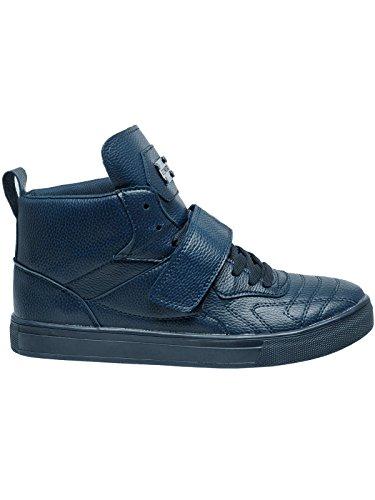 OZONEE Herren Sneakers Sportschuhe Laufschuhe Turnschuhe Low Top Geschnürt CONER B3001 Dunkelblau_CONER-B8003