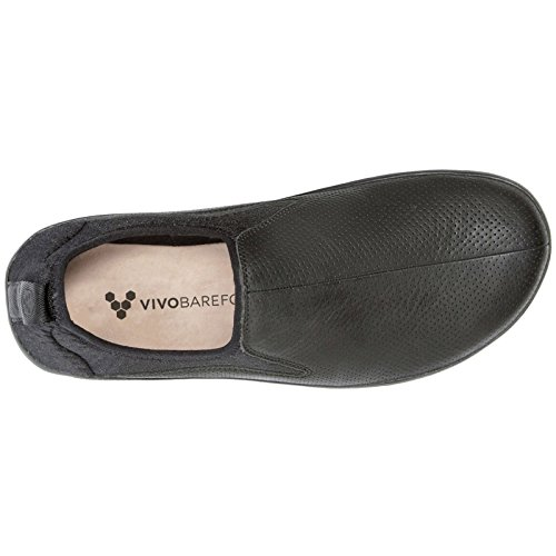 Homme Noir Vivobarefoot Chaussures Black Cuir Slyde wqIx6nZF