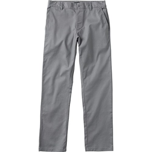 RVCA Weekend Stretch Chino Pants Grey Size (Stretch Weekend Chino Pants)