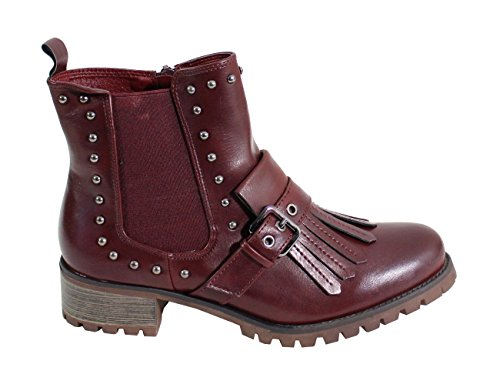 Wine Fashion Red Boots Women's By Shoes nqg4aa