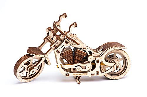 WOODEN.CITY Motorcycle Cruiser | Mechanical Model Kit for sale  Delivered anywhere in USA
