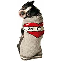 Chilly Dog Tattooed Mom Dog Sweater, X-Small