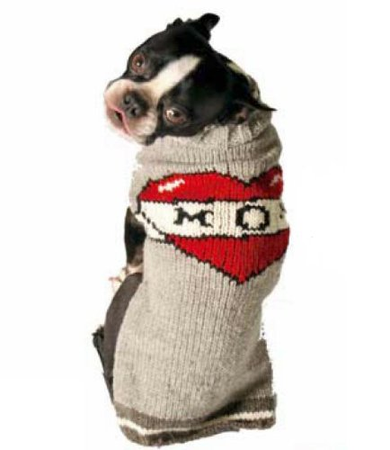 Chilly Dog Tattooed Mom Dog Sweater, Medium by Chilly Dog