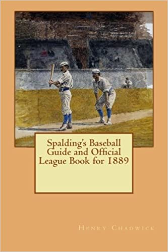 Book Spalding's Baseball Guide and Official League Book for 1889