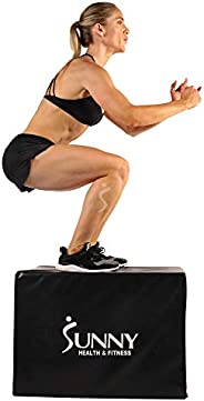 Sunny Health & Fitness No. 072 3-in-1 Foam Plyo Jumping