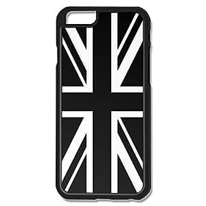IPhone 6 Cases Black White UK Flag Design Hard Back Cover Cases Desgined By RRG2G