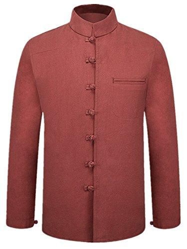 Tang Suit National Costume Retro Jackets Coats Men's dress Full dress Gentleman by BAOLUO-Tang Suit