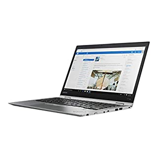 "Lenovo 20LF000KUS Thinkpad X1 Yoga 20LF 14"" Flip Design Notebook - Windows - Intel Core i7 1.9 GHz - 16 GB RAM - 512 GB SSD, Silver"