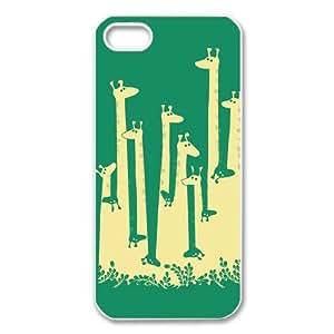 GIRAFFE Back Cover Case for iPhone 5 5s