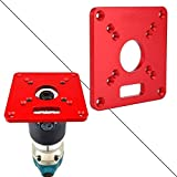 Router Table Insert Plate Universal Aluminum Alloy