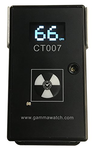 d Radioactive Contamination Detector - Complete Alpha, Beta, Gamma Detection - Bluetooth 4.0 ()
