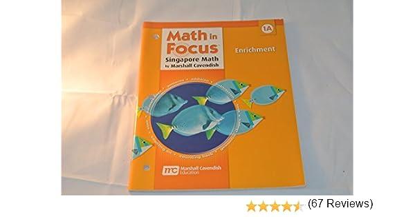 Math in Focus: Singapore Math: Enrichment, Book A Grade 1: GREAT ...