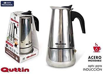 Quttin 58099 Cafetera Inducción, 6 Servicios: Amazon.es: Hogar