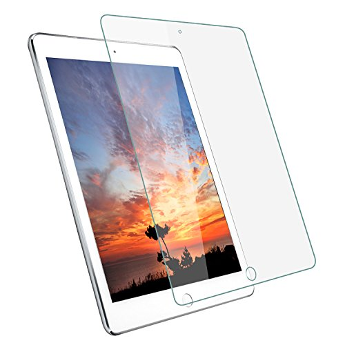 """Price comparison product image New iPad 9.7 (2017, 2018) / iPad Pro 9.7 / iPad Air 2 / iPad Air Screen Protector,  GreenLaw 9.7"""" HD Tempered Glass Screen Protector - 2.5D Round Edge / Apple Pencil Compatible"""
