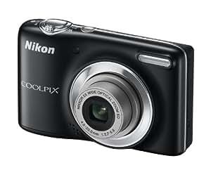 """Nikon Coolpix L25 - Cámara compacta de 10.1 Mp (pantalla de 3"""", zoom óptico 5x, estabilizador de imagen) color negro"""