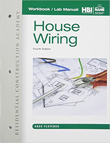 Surprising Workbook With Lab Manual For Fletchers Residential Construction Wiring Database Obenzyuccorg