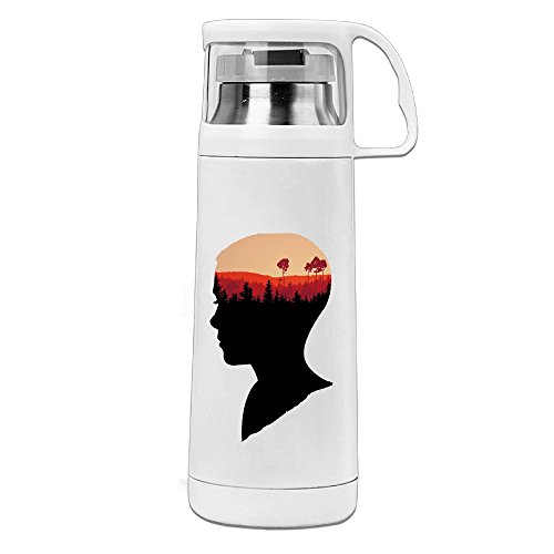 HAULKOO Stranger Things Stainless Steel Bottle Cup (New England Patriots Video Chair)