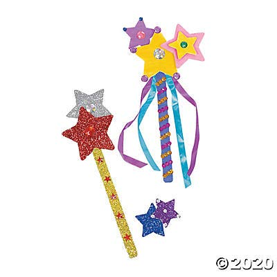 Do It Yourself Paper Princess Wands - Crafts for Kids and Fun Home Activities: Toys & Games