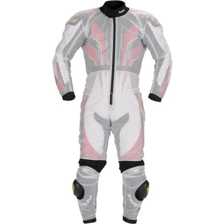 RS Taichi Racing Rain Suit - NXR003 (LARGE) (CLEAR)