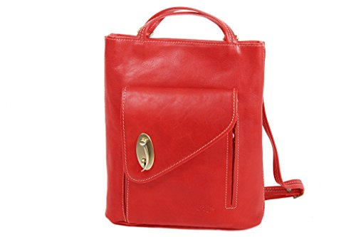 322015 shopping Vachette Rouge Sac Sac K de à Katana gras cuir dos qPpHnw5v5