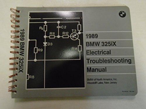 1989 BMW 325iX 325 i x Electrical Troubleshooting Wiring Diagram Manual ETM ***
