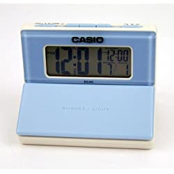 Casio Digital Alarm Clock with Snooze and Date Display Dq- 542-7ef