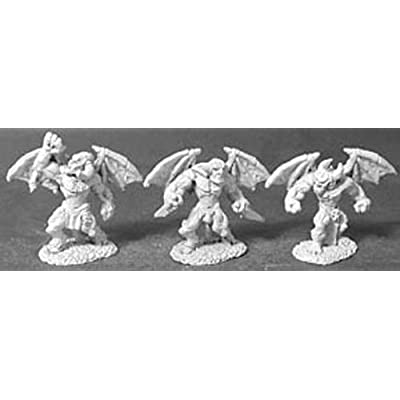 Reaper Miniatures Blood Imps (3 Pieces) #02427 Dark Heaven Unpainted Metal: Toys & Games