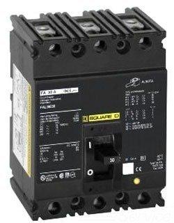 SCHNEIDER ELECTRIC 480-VOLT 100-AMP FAL34100 Molded CASE Circuit Breaker 480V 100A by Schneider Electric (Image #1)