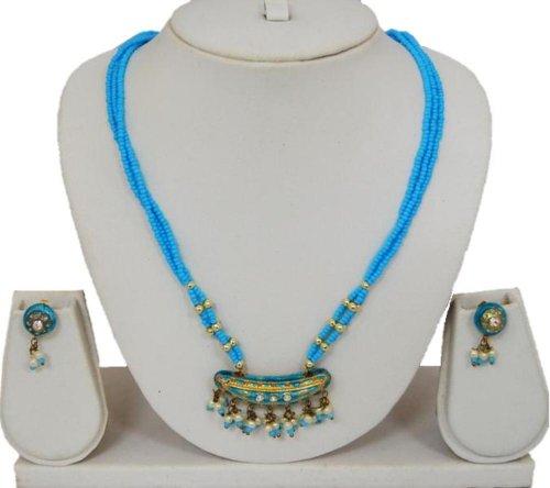 COSIMA Lac Jewelry Light Blue / AZINLC012-LBL - Cosima Costume